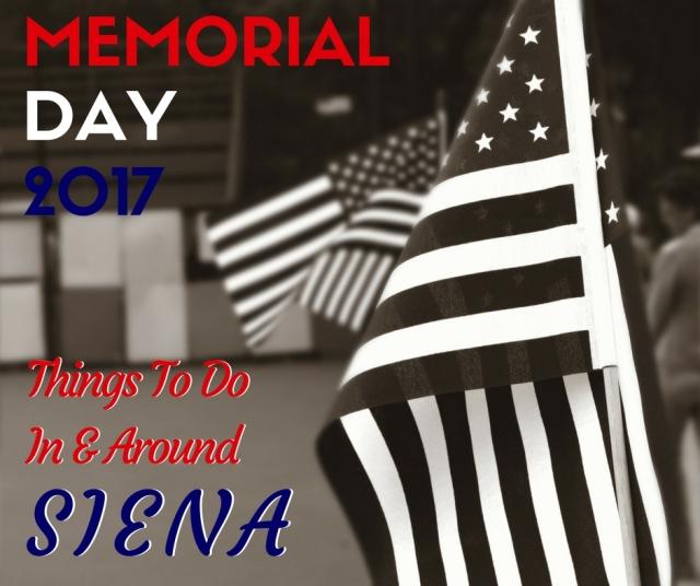 Siena Memorial Day