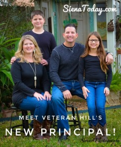 Veteran's Hill New Principal