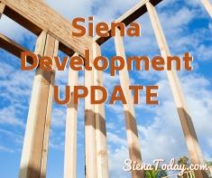 Siena Development UPDATE