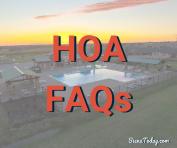 Siena HOA FAQs