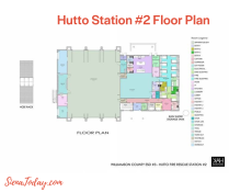 Fire Station Floor Plan
