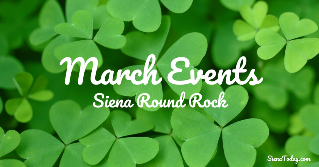 March Events (Siena)