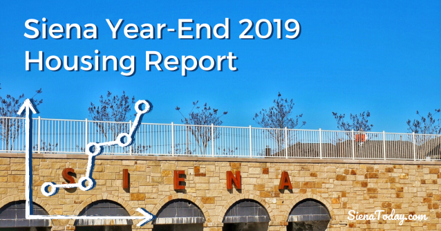Siena Round Rock Year End 2019 Housing Report